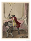 Giovanni Giacomo Casanova Italian Adventurer Giclee Print by Auguste Leroux