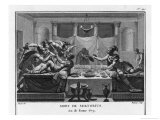 Sertorius Supporter of Marius in Spain Withstands Attacks by Pompeius and Others Giclee Print by Augustyn Mirys