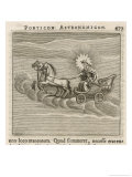 Sun in Chariot, 1681 Giclee Print by Gaius Julius Hyginus