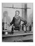 Wilhelm Conrad Rontgen, German Physicist Discovered X-Rays Giclee Print by Walter E. Hodgson