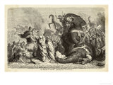Pyrrhus King of Epirus Invading Italy Defeats the Romans at Asculum Premium Giclee Print by H. Leutemann