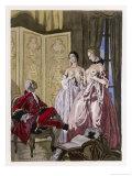 Giovanni Giacomo Casanova Chevalier de Saingalt Giclee Print by Auguste Leroux
