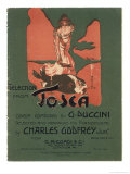 Tosca, the Death of Scarpia Premium Giclee Print by Adolfo Hohenstein