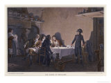 Napoleon in 1793 at the Supper of Beaucaire Giclee Print by  Lecomte-de-nouy