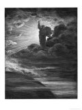 God Creates Light Giclee Print by H. Pisan