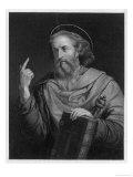 Saint Paul of Tarsus Rabbi Tentmaker Missionary Depicted Preaching Giclee Print