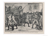 Stamp Act Introduced in New York, Troops Escort the Stamped Paper to the City Hall New York Giclee Print by H.m. Paget
