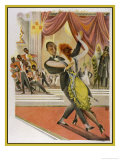 In the New Germany Dancing to a Jazz Band in a German Night Club Giclee Print by M. Schwarzer