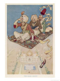 The Magic Carpet Favoured Transport System of the Arabian Nights Giclee Print by Monro S. Orr