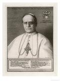 Pope Pius XI Giclee Print by Rene Godard