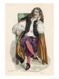 Jean-Baptiste Moliere French Playwright Giclee Print by Monnier 