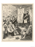 Initiation into a Trade Union, Due to Official Hostility Giclee Print by  Phiz