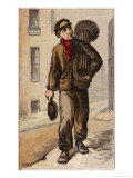 Young Chimney Sweep Premium Giclee Print by H.w. Petherick