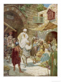 The Magi Arrive in Jerusalem Giclee Print by William Hole