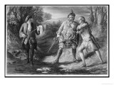 Rob Roy Intervenes Between Rashleigh and Francis Osbaldstone Giclee Print by Author: Sir