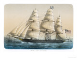 "The American Clipper Ship ""Challenge"" of New York Giclee Print by  Lebreton"