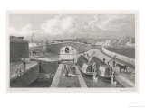 Regent's Canal East Entrance at Islington Tunnel Giclee Print by F.j. Havell