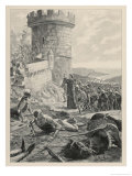 The Hussites Under Jan Ziska Defeat the Catholic Army of Sigismund Giclee Print by G. Rochegrosse
