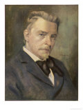 Hugo Wolf Austrian Composer Giclee Print by Ludwig Nauer