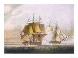 Naval Combat off Boston Between Hms Shannon and the American Frigate Chesapeake Giclee Print by Jeakes 