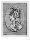 Aspasia Greek Adventuress and Consort of Pericles Giclee Print by Picart 