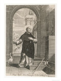 Hugh Bishop of Lincoln Giclee Print by Pierre-Jean Mariette