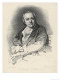 William Blake English Artist Poet and Mystic Giclee Print by Luigi Schiavonetti