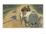 In Voller Fahrt Giclee Print by Johann Martini