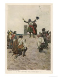 Rene-Robert Cavelier de la Salle French Explorer Giclee Print by Howard Pyle