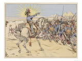 Napoleon in Egypt Reproduction proc&#233;d&#233; gicl&#233;e par Job 