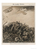 German Spring Offensive: The Germans Counter-Attack When Thought to be Defeated Giclee Print by Wilhelm Schulz