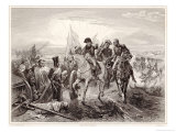 Napoleon I at the Battle of Friedland 14 June 1807 Giclee Print by Robert Lefevre