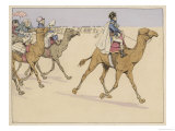 During His Egyptian Campaign He is Accompanied by Savants Giclee Print by  Job