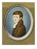 Heinrich Von Kleist German Writer Giclee Print by Franz Krueger