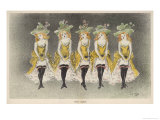 The Mackinson Sisters Giclee Print by Henri Gabriel Ibels