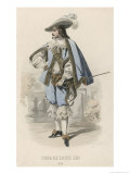 French Gentleman at the Court of Louis XIII Giclee Print by A. Portiere