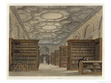 Cambridge Public Library Giclee Print by F. Mackenzie