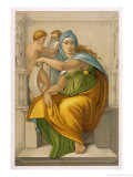 The Oracle of Delphi Giclee Print by  Michelangelo Buonarroti