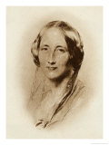Elizabeth Cleghorn Gaskell Writer in 1851 Giclee Print by George Richmond