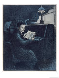 E.T. W. Hoffmann Giclee Print by Wilhelm Schulz