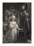 The Execution of Mary Queen of Scots Giclee Print by Harry Payne