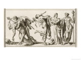 Worshippers of Bacchus 1 of 2 Giclee Print by Bernard Picart