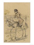 Napoleon I During the Russian Campaign 1812 Giclee Print by  Job