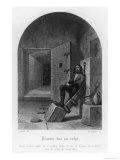 La Bastille Paris Giclee Print by  Langlois