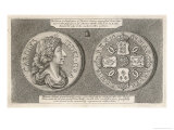 The Crown or Tryal-Piece of Thomas Simon During the Reign of Charles II Giclee Print by Thomas Simon