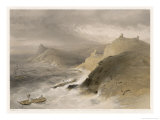 Great Gale Causes Devastation Among the Allied Vessels Moored in the Harbour Giclee Print by W. Simpson