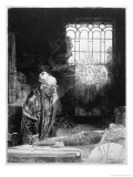 Magician at Work, Doctor Faustus Giclee Print by  Rembrandt van Rijn