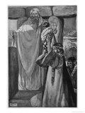 Human Sacrifice Premium Giclee Print by Stephen Reid