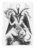 The Evil One Can Take Many Shapes But This is His True Shape Premium Giclee Print by Eliphas Levi