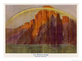 The Rainbow Bridge Connecting Heaven and Earth Giclee Print by Hermann Hendrich